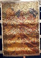 Gossips Wool Tapestry 1979 60x79 Super Huge Tapestry by R.C. Gorman - 3
