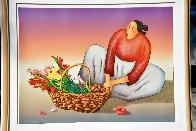 Chimayo Chilis 1992 Limited Edition Print by R.C. Gorman - 1