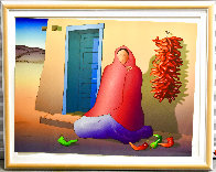Blue Door 1989 Limited Edition Print by R.C. Gorman - 1