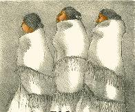Three Navajo Women 1970 Limited Edition Print by R.C. Gorman - 0