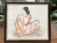 Woman From Maui State I 1983 Limited Edition Print by R.C. Gorman - 1