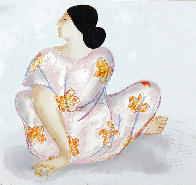 Woman From Maui State I 1983 Limited Edition Print by R.C. Gorman - 0