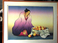 Naranja PP 1989 Limited Edition Print by R.C. Gorman - 2