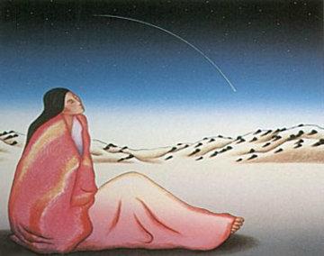 Falling Star 1986 Limited Edition Print by R.C. Gorman