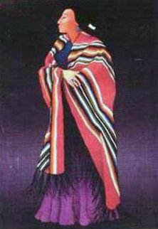 Dolly Nez 1988 Limited Edition Print by R.C. Gorman