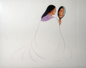 La Novia 1999 Limited Edition Print - R.C. Gorman