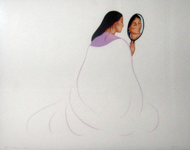 La Novia 1999 Limited Edition Print by R.C. Gorman