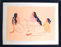 Taos Arabesque (State II) 1998 Limited Edition Print by R.C. Gorman - 1