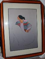 Valencia 1986 Limited Edition Print by R.C. Gorman - 1