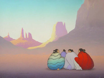 Monument Valley AP 1987 Limited Edition Print by R.C. Gorman