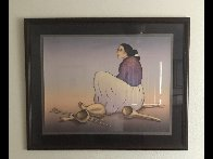 Ladle Maker 1982   Limited Edition Print by R.C. Gorman - 2