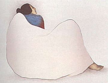 Woman From Gallup 1981 Limited Edition Print by R.C. Gorman