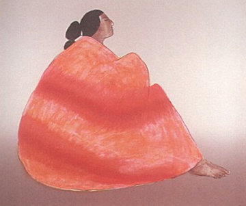 Marie (State II) 1985 Limited Edition Print by R.C. Gorman
