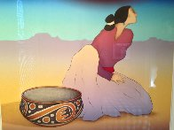 Tonto Woman 1991 Limited Edition Print by R.C. Gorman - 2