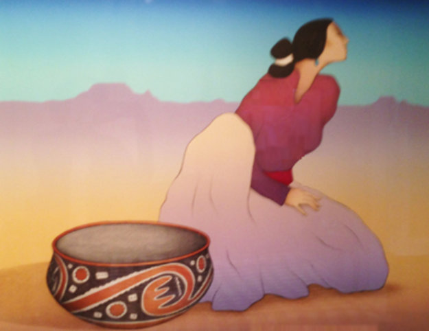 Tonto Woman 1991 Limited Edition Print by R.C. Gorman