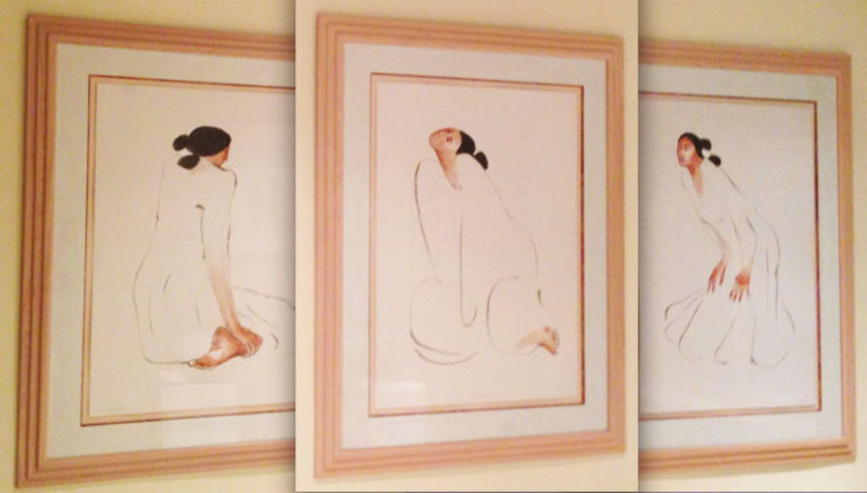 Trilogy, Set of 3 1986 Limited Edition Print by R.C. Gorman