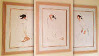 Trilogy, Set of 3 1986 Limited Edition Print by R.C. Gorman - 0
