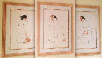 Trilogy, Set of 3 1986 Limited Edition Print - R.C. Gorman