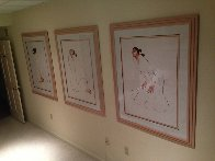 Trilogy, Set of 3 1986 Limited Edition Print by R.C. Gorman - 13