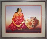 Zia Jar 1985 Limited Edition Print by R.C. Gorman - 1