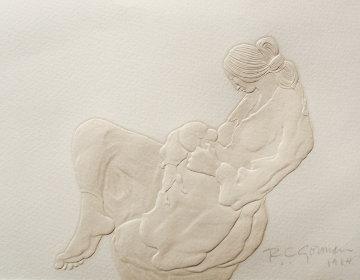 Newborn Cast Paper 1984 Limited Edition Print by R.C. Gorman