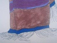 Carol's Blanket I AP 1984 Limited Edition Print by R.C. Gorman - 7