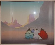 Monument Valley 1986 Limited Edition Print by R.C. Gorman - 1