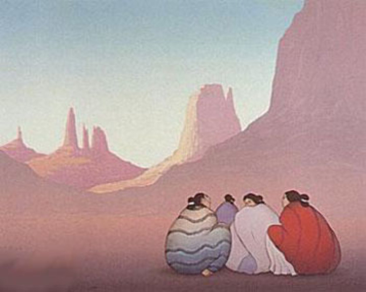 Monument Valley 1986 Limited Edition Print by R.C. Gorman