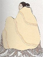 Lady in Yellow Blanket 1977 Limited Edition Print by R.C. Gorman - 0