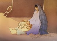 Woman From Third Mesa 1988 Limited Edition Print by R.C. Gorman - 1