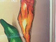 Chili Picker 1991 Limited Edition Print by R.C. Gorman - 2