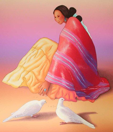 Maria Paloma 1993 Limited Edition Print by R.C. Gorman