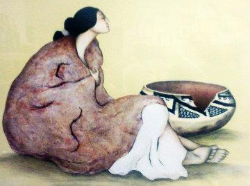 Tonto Pot Limited Edition Print by R.C. Gorman