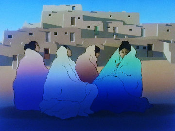 Pueblo 1981 Limited Edition Print by R.C. Gorman