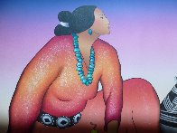 Sunset Woman 1988 Limited Edition Print by R.C. Gorman - 2