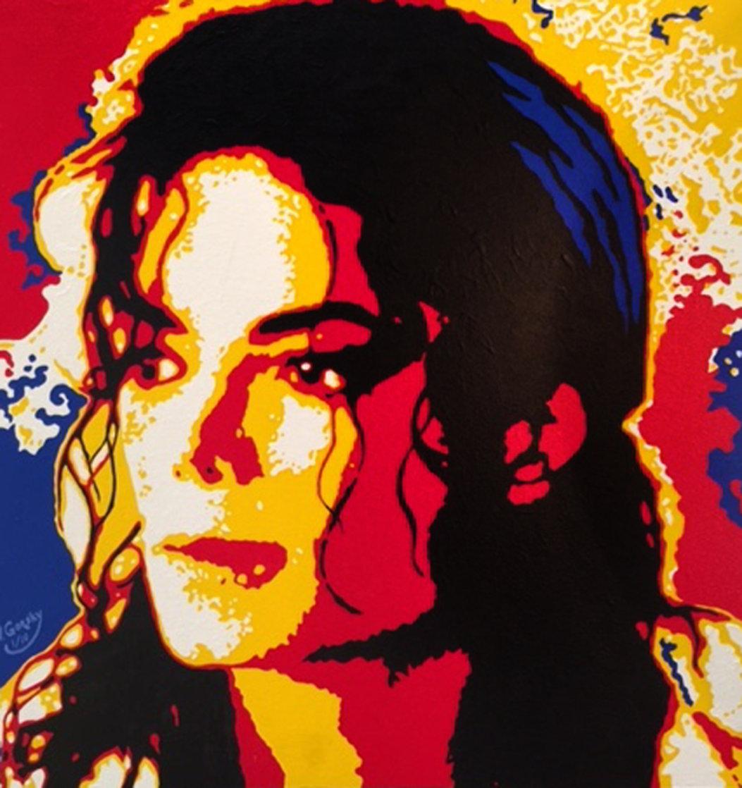 Michael Jackson 24x24 Limited Edition Print by Vladimir Gorsky