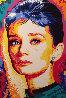 Audrey Hepburn 2000 40x30 Original Painting by Vladimir Gorsky - 0
