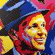 Frank Sinatra 2005 36x36 Original Painting by Vladimir Gorsky - 0