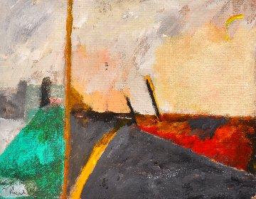 Color As Emotion 1995 13x15 Original Painting - Tonino Gottarelli