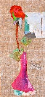 Totality 1997 23x15 Original Painting - Tonino Gottarelli