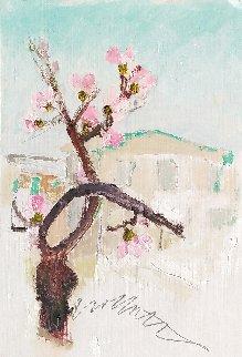 In the Spring 1985 12x8 Original Painting - Tonino Gottarelli