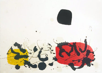 Germination II 1969 Limited Edition Print by Adolph Gottlieb