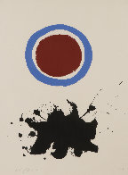 Blue Halo 1967 Limited Edition Print by Adolph Gottlieb - 2