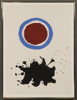 Blue Halo 1967 Limited Edition Print by Adolph Gottlieb - 1