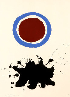 Blue Halo 1967 Limited Edition Print - Adolph Gottlieb