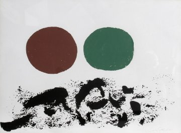 Flurry 1967 Limited Edition Print - Adolph Gottlieb
