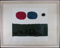Green Foreground 1972 Limited Edition Print by Adolph Gottlieb - 1