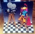 Daffy Duck 3-D, 1993 29x30x3 Sculpture - Roark Gourley