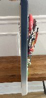 Le Play (Golf) Cast Resin Sculpture 1994 20 in Sculpture by Roark Gourley - 5