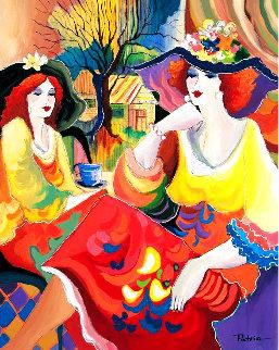 Friends At Brunch Limited Edition Print - Patricia Govezensky